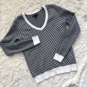 TOMMY HILFIGER Diamond Patterned Sweater